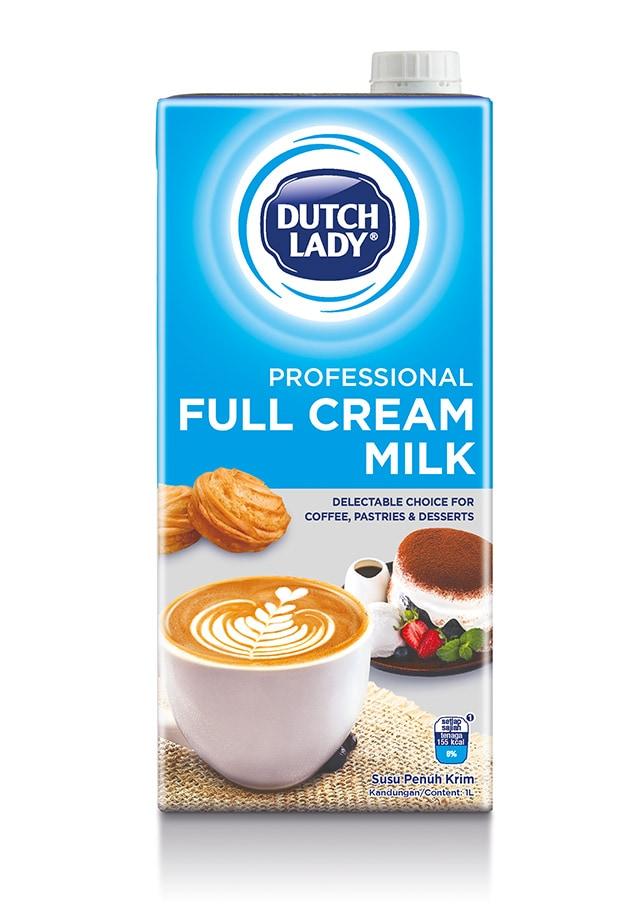 professional full cream milk