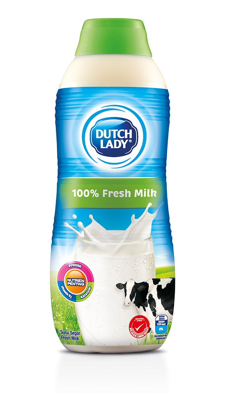 Fresh milk from farm