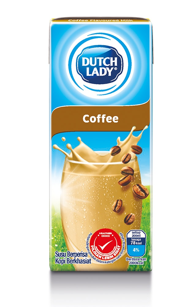susu berperisa kopi